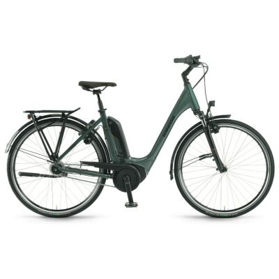 "Winora Tria N8 Einrohr 500Wh E-Bike 28"" 8-G Nexus RT 2021 | olive"