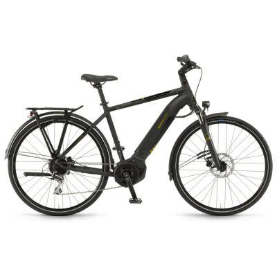 "Winora Yucatan i8 Herren i400Wh E-Bike 28"" 8-G Acera 2020 | schwarz matt/glanz"