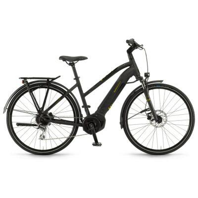 "Winora Yucatan i8 Damen i400Wh E-Bike 28"" 8-G Acera 2020 | schwarz matt/glanz"
