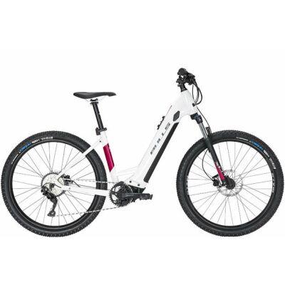 "BULLS Aminga Eva 2 DA E-MTB 27,5"" Wave Gang Kettenschaltung metallic off white/rouge red 625Wh E-Bike   2020"