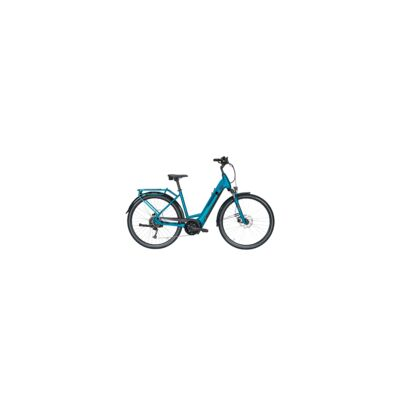 "Pegasus Solero Evo 9 DA E-City 28"" Wave Gang Kettenschaltung metallic petrol 625Wh E-Bike | 2020"