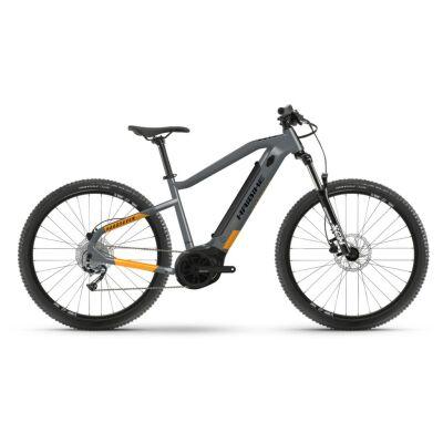 Haibike HardSeven 4 400Wh E-Bike 9-G Alivio 2021 | coolgrey/lava matt