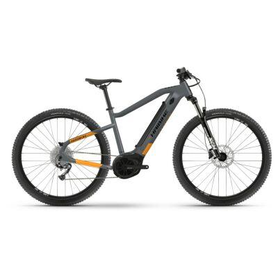 Haibike HardNine 4 400Wh E-Bike 9-G Alivio 2021 | coolgrey/lava matt