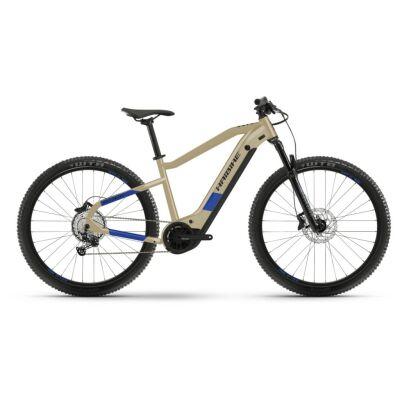 Haibike HardNine 7 i630Wh E-Bike 12-G SLX 2021   cofee/blue