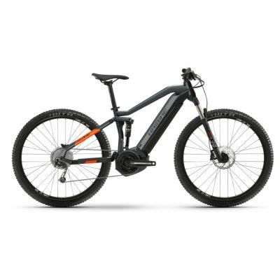 Haibike FullNine 4 i500Wh E-Bike 10-G Deore 2021 | coolgrey/lava matte