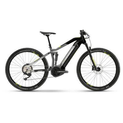 Haibike FullNine 6 i630Wh E-Bike 12-G Deore 2021 | urban grey/black