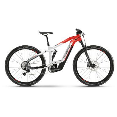 Haibike FullNine 9 i625Wh E-Bike 12-G Deore 2021 | coolgrey/red