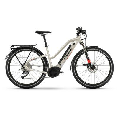 Haibike Trekking 4 i500Wh E-Bike Low Standover 9-G Altus 2021 | desert/white