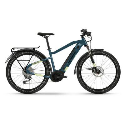 Haibike Trekking 5 i500Wh E-Bike 9-G Alivio 2021 | blue/canary