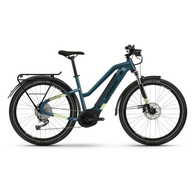 Haibike Trekking 5 i500Wh E-Bike Low Standover 9G Aliv. 2021 | blue/canary