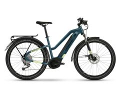 Haibike Trekking 5 i500Wh E-Bike Low Standover 9G Aliv....