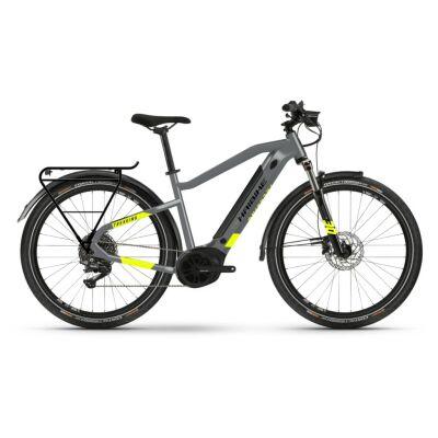 Haibike Trekking 6 i500Wh E-Bike 10-G Deore 2021 | cool grey/red