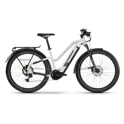 Haibike Trekking 8 i630Wh E-Bike Low Standover 12-G XT 2021 | sparkling white