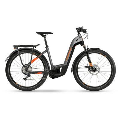 Haibike Trekking 10 i625Wh E-Bike Low Step 12-G SLX 2021 | BCXK titan/lava matte