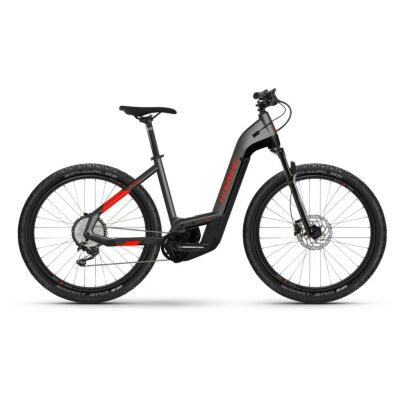 Haibike Trekking 9 Cross i625Wh E-Bike Low Step 11-G Deore 2021   anthracite/red