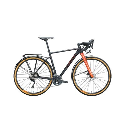 KTM X-STRADA LFC Gravelbike 2021 | black matt (fire orange+black glossy)