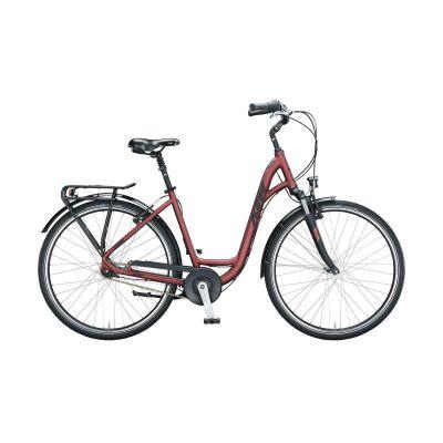 KTM CITY LINE 28 -W Urban/City Bike 2021 | bordeaux matt (black+grey)