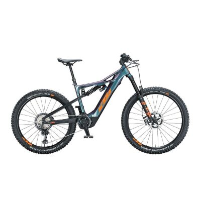 KTM MACINA PROWLER PRESTIGE / E-Bike Fully 2021   space galaxy (orange+black)