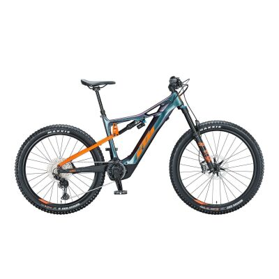KTM MACINA KAPOHO MASTER / E-Bike Fully 2021 | space galaxy (orange+black)