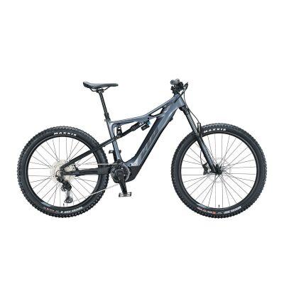KTM MACINA KAPOHO ELITE / E-Bike Fully 2021 | metallic grey (black matt)