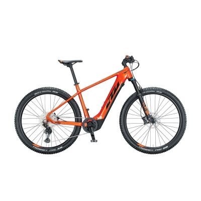 KTM MACINA TEAM 291 / E-Bike Hardtail 2021 | fire orange (black)