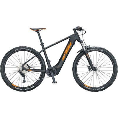 KTM MACINA TEAM 293 / E-Bike Hardtail 2021 | black matt (orange+black glossy)
