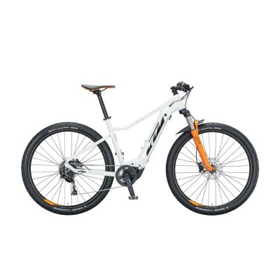 KTM MACINA RACE 292 / E-Bike Hardtail 2021 | metallic white (black+orange)