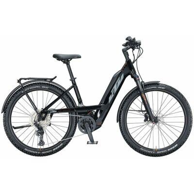 KTM MACINA AERA 271 LFC TS E-Bike MTB-Tiefeinsteiger 2021 | metallic black (grey+orange)