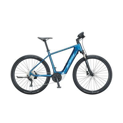 KTM MACINA CROSS P610 H E-Bike Crossrad 2021   denim (blue+white)