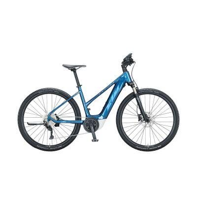 KTM MACINA CROSS P610 D E-Bike Crossrad 2021 | denim (blue+white)
