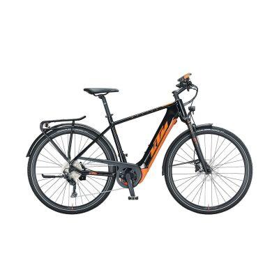KTM MACINA SPORT 630 H E-Bike Trekkingrad 2021 | metallic black (orrange)