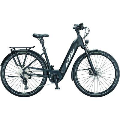 KTM MACINA STYLE XL US E-Bike Trekkingrad 2021   black matt (silver+grey)