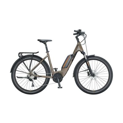 KTM MACINA GRAN P272 US E-Bike Trekkingrad 2021 | oak (black+orange)