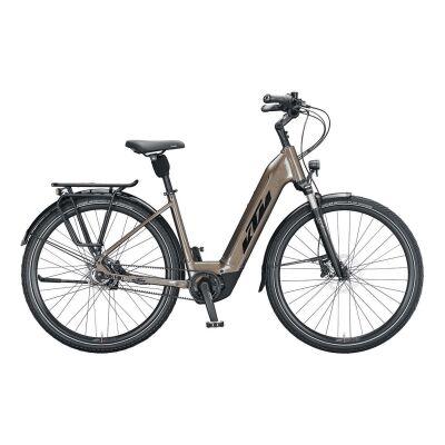 KTM MACINA CITY 610 BELT US E-Bike Trekkingrad 2021   oak (black+orange)