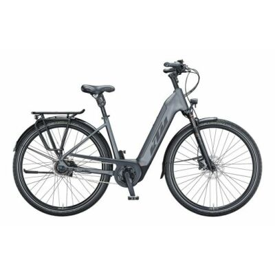 KTM MACINA CITY XL RT US E-Bike Trekkingrad 2021 | steelgrey matt (black+orange)