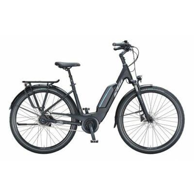 KTM MACINA CENTRAL 5 RT US E-Bike Trekkingrad 2021 | black matt (grey+blue)