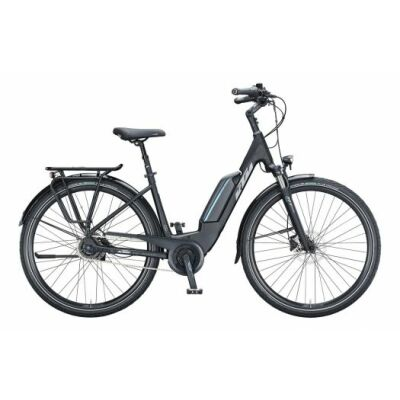 KTM MACINA CENTRAL 5 US E-Bike Trekkingrad 2021 | black matt (grey+blue)