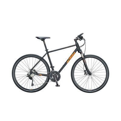 KTM LORETO CROSS H Crossrad 2021 | black matt (orange+black glossy)