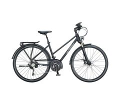 KTM TRENTINO LIGHT D Trekkingrad 2021 | black matt (grey...