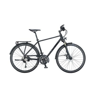 KTM MARANELLO LIGHT DISC H Trekkingrad 2021 | black matt (black glossy)