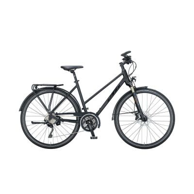 KTM MARANELLO LIGHT DISC D Trekkingrad 2021 | black matt (black glossy)
