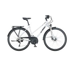 KTM VENETO LIGHT DISC D Trekkingrad 2021 | white matt...