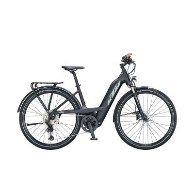KTM POWER SPORT 12 PLUS PTS 43CM TS E-Bike Trekkingrad 2021 | black matt (grey+orange)