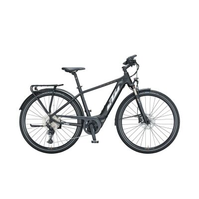 KTM POWER SPORT 11 H E-Bike Trekkingrad 2021 | black matt (white+orange)
