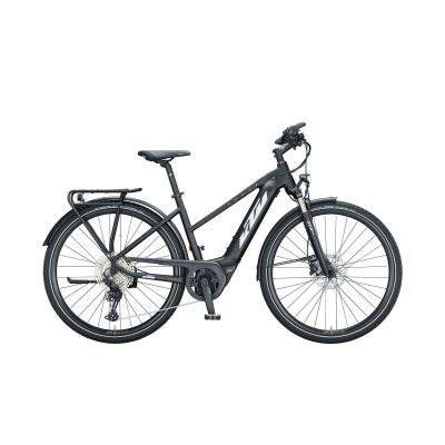 KTM POWER SPORT 11 D E-Bike Trekkingrad 2021 | black matt (white+orange)