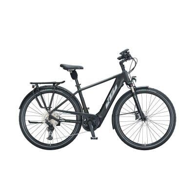 KTM CENTO 11 PLUS H E-Bike Trekkingrad 2021 | black matt (grey+green)