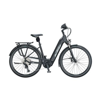 KTM CENTO 11 PLUS US E-Bike Trekkingrad 2021 | black matt (grey+green)