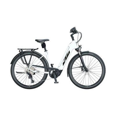 KTM CENTO 11 PLUS US E-Bike Trekkingrad 2021 | white matt (black+red)