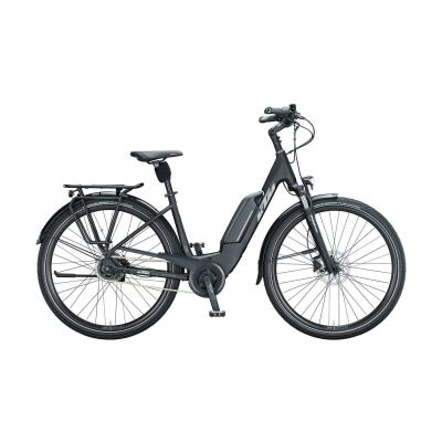KTM CENTO 5 DISC US E-Bike Trekkingrad 2021 | black matt (grey+green)