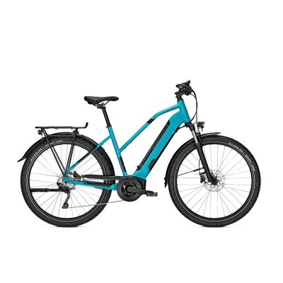 KALKHOFF ENTICE 3.B ADVANCE 500 Wh Trapez Trekking E-Bike 2021   tealblue matt